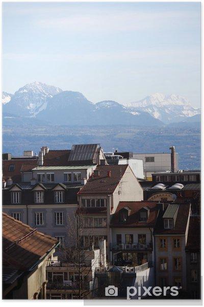 Plakát Lausanne - Evropa