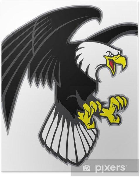 Plakát Létající orel - Nálepka na stěny