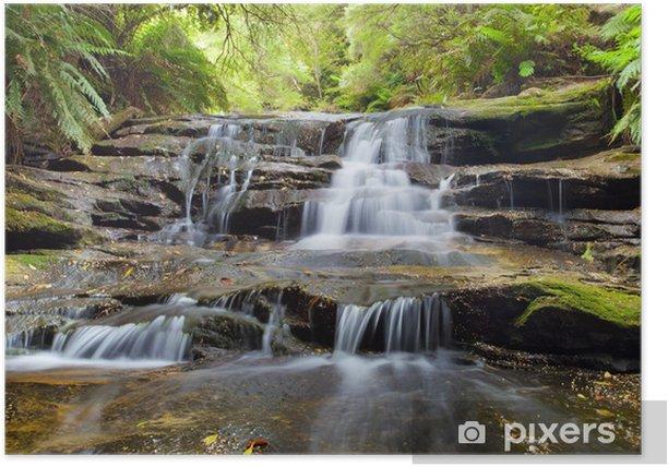 Plakat Leura Cascades, Blue Mountains, Australia - Tematy