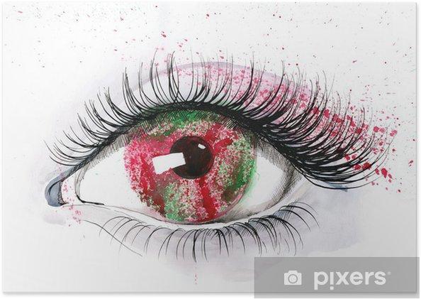 Plakát Lidské oko - Témata