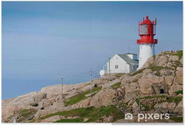 Plakát Lindesnes Lighthouse - Evropa