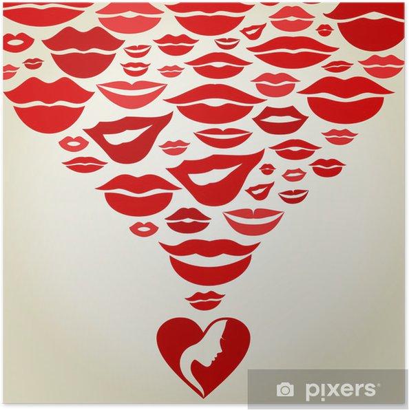 Plakat Lips7 - Części ciała