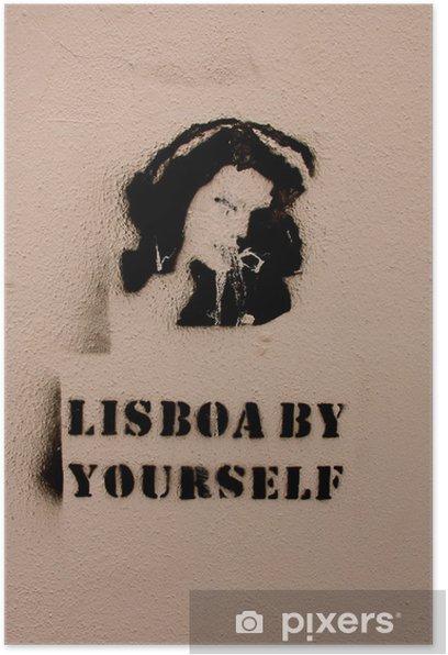 Plakat Lisboa samodzielnie - Sztuka i twórczość