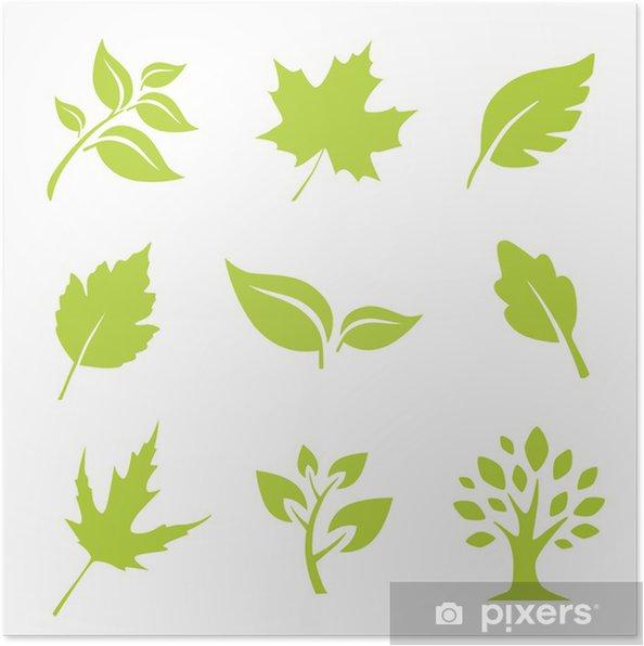 Plakat Listowie - Dom i ogród