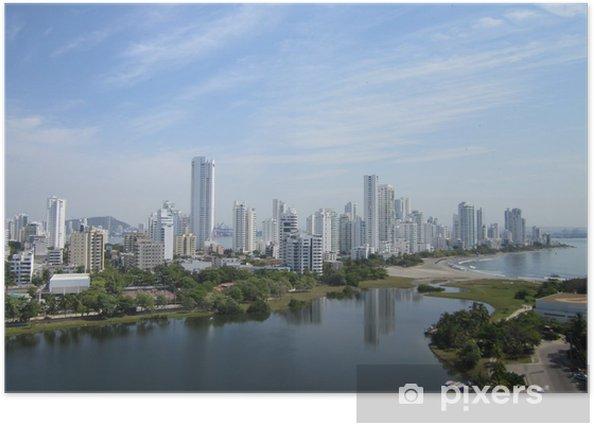 Plakat Little Lake - Cartagena - Ameryka