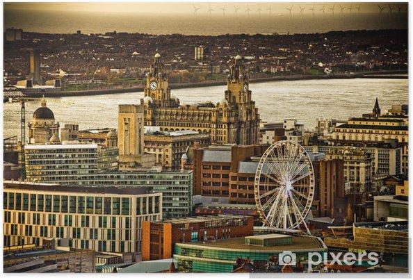 Plakat Liverpoolu - Przemysł ciężki