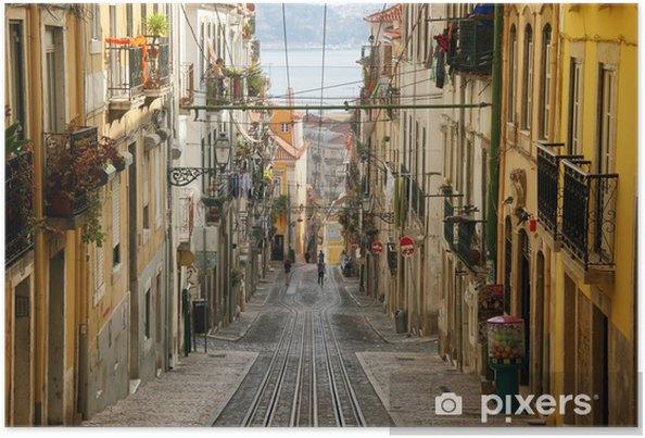 Plakat Lizbona - Bica - Przeznaczenia
