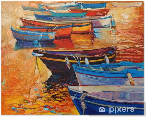 Plakát Lodě a oceán - Umění a tvorba