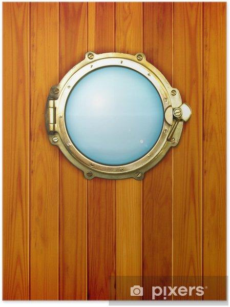 Plakát Lodní okénko - Lodě