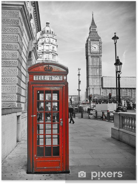 Plakat London-Impression -