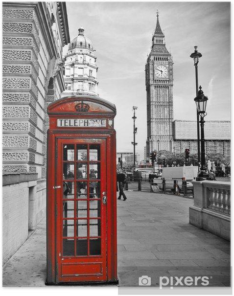 Plakat London-Impression -