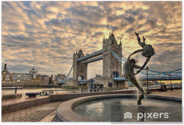 Plakat London Tower Bridge - Tematy