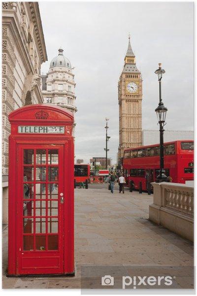 Plakat Londyn, Anglia - Tematy