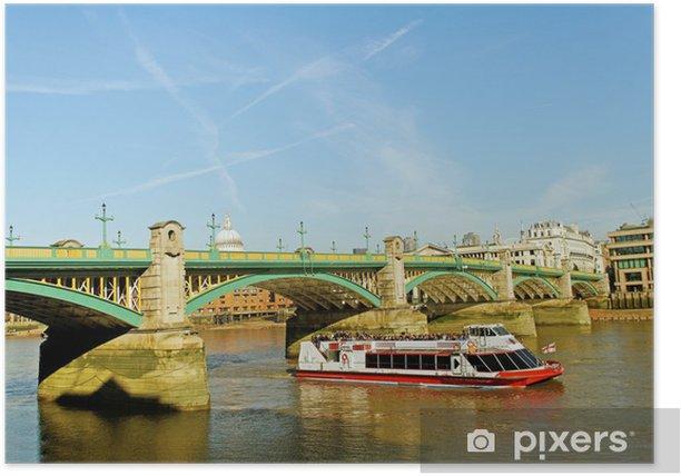 Plakat Londyn pejzaż - Miasta europejskie