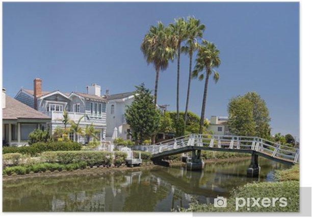 Plakát Los Angeles Benátky kanály - Témata