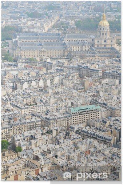 Plakat Lot Nad Paryżem