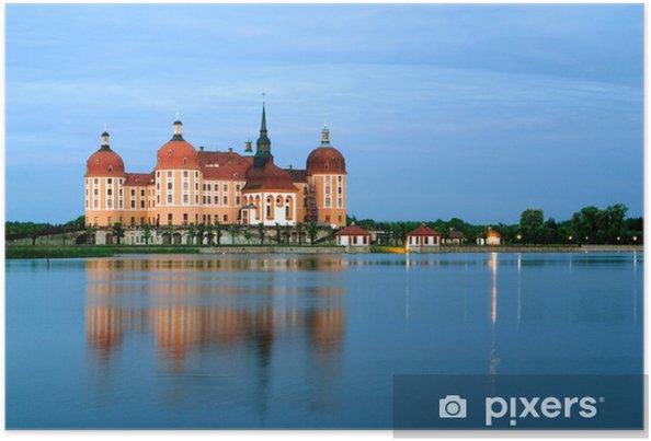 Plakát Lov uzavřen Moritzburg - Památky
