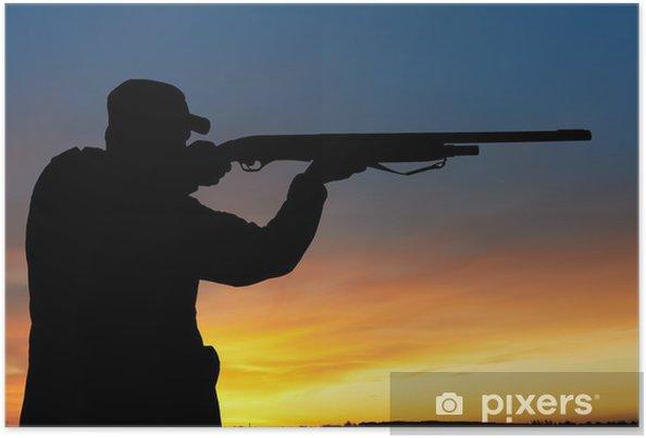 Plakát Lovec s puškou pistolí - Témata