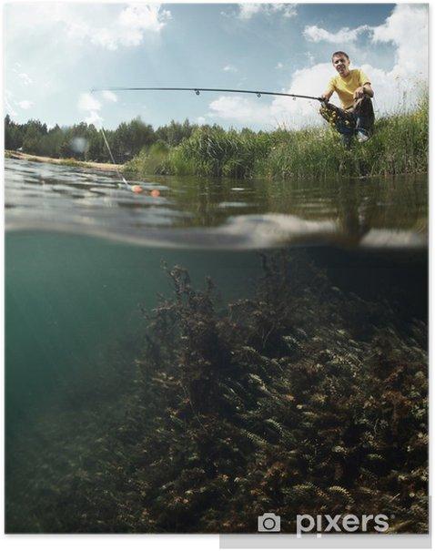 Plakat Łowienie Ryb - Sporty indywidualne