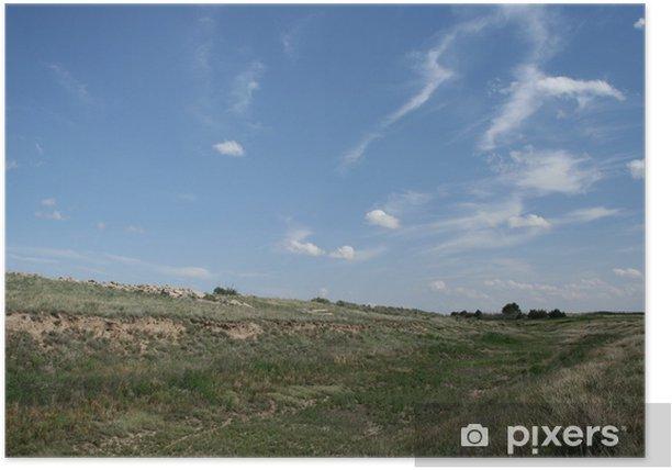 Plakat Łóżko creek - Krajobraz wiejski
