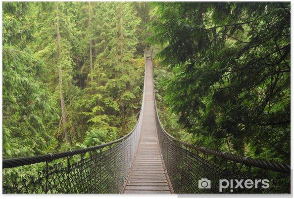 Plakat Lynn valley wiszący most - Tematy