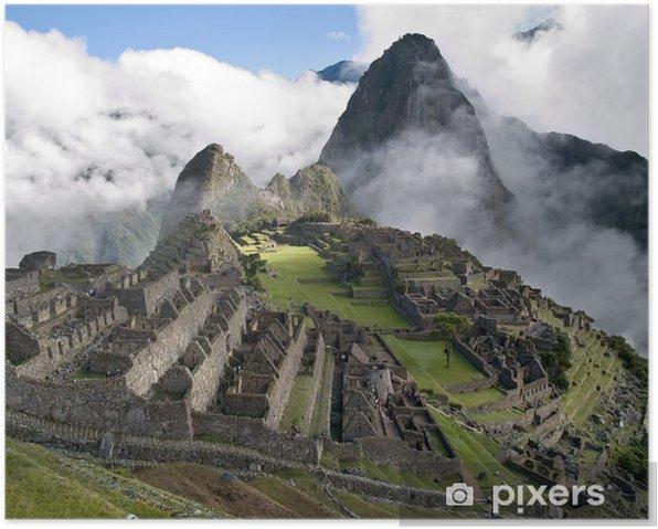 Plakat Machu Picchu (Peru) - Style