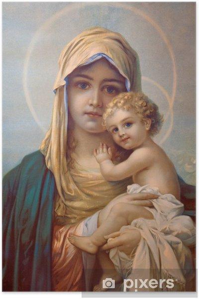 Plakat Madonna Matka Boża
