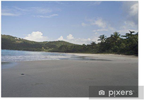 Plakát Magens Bay Beach v St Thomas - Amerika
