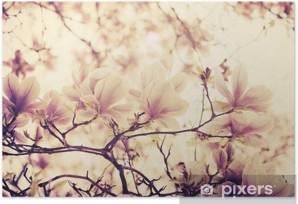 Plakat Magnolia - Style