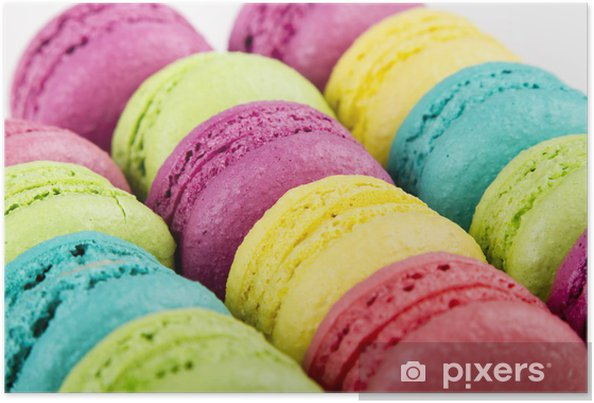 Plakat Makaroniki - Słodycze i desery