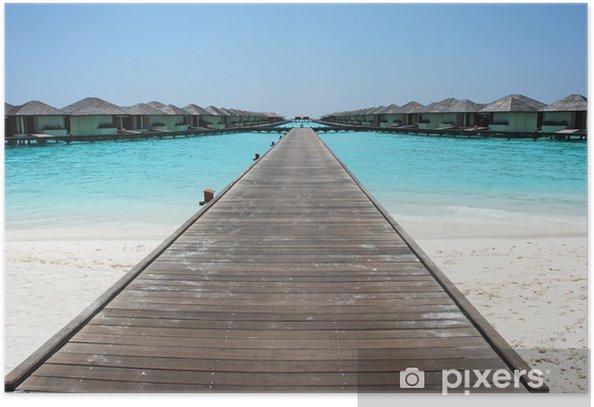 Plakát Maldive - Asie