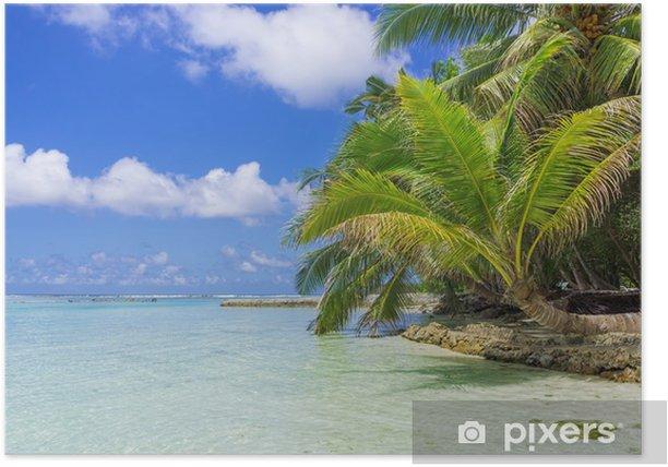 Plakat Malediwy - Azja