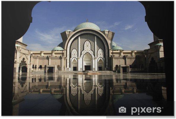 Plakat Malezja, Kuala Lumpur: meczet - Budynki użyteczności publicznej