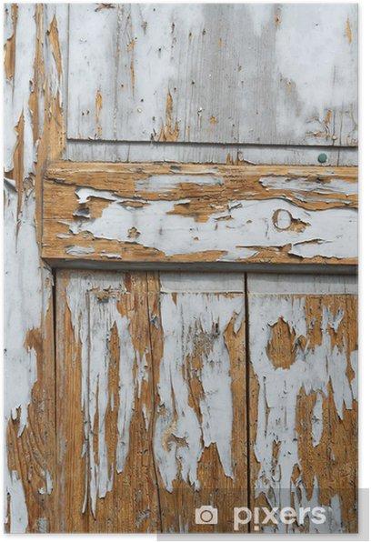 Plakat Malowane tła drewna - Tła