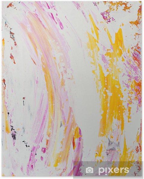 Plakat Malowane tła - Sztuka i twórczość