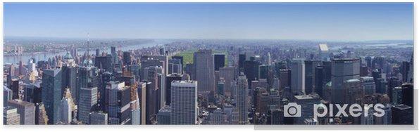 Plakát Manhattan Nord vu de l'Empire State Building v New Yorku - Amerika