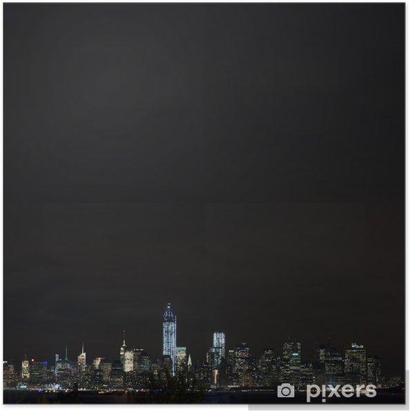 Plakát Manhattan skyline - Témata
