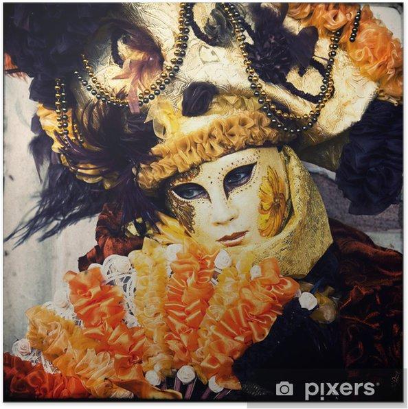 fd307afcb Plakát Maska - karneval v Benátkách • Pixers® • Žijeme pro změnu