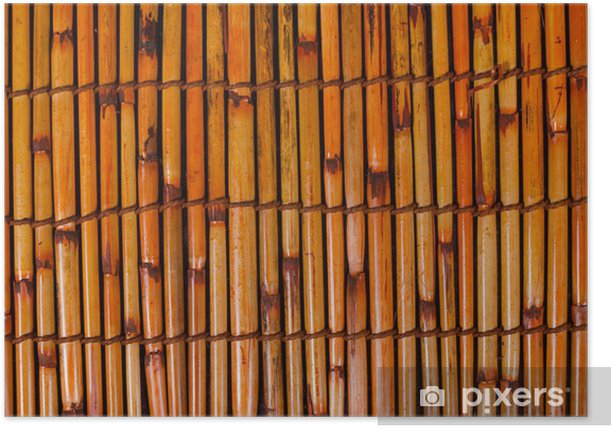 Plakat Mata bambusowa - Azja