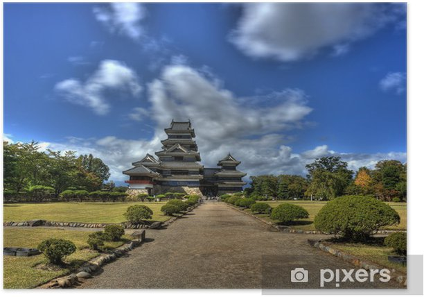 Plakát Matsumoto Castle - Asie