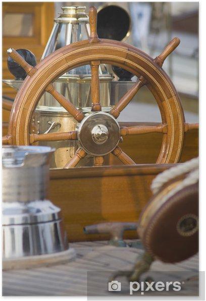 Plakat Maty z łodzi - Sporty wodne