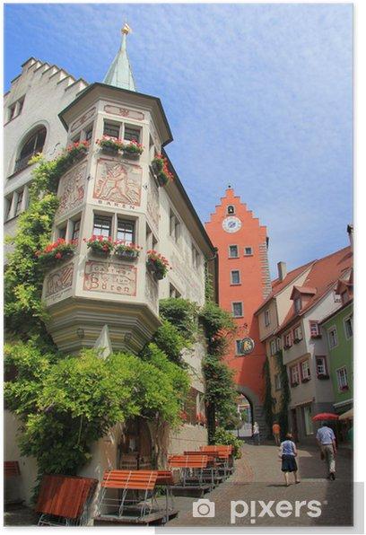 Plakát Meersburg, Marktplatz - Evropa