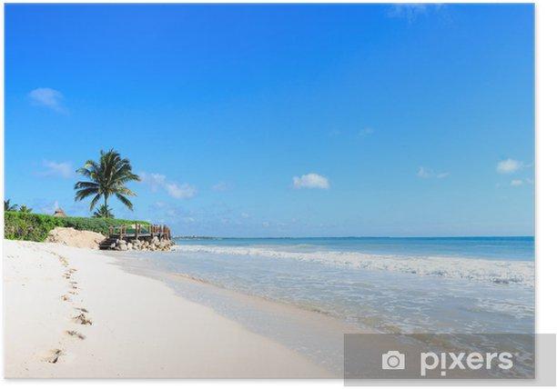 Plakat Meksykańska plaża - Ameryka
