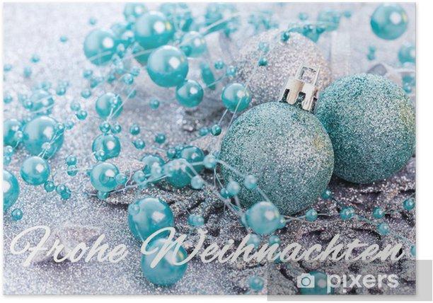 Plakat Merry Christmas karty - Święta międzynarodowe