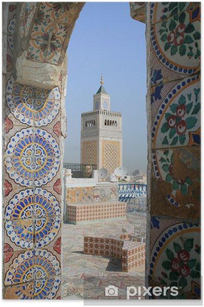 Plakát Mešita v Tunisu - Prázdniny