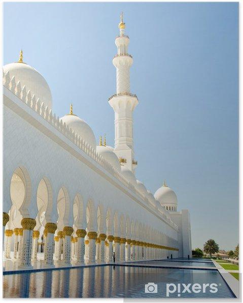 Plakát Mešita - Náboženství