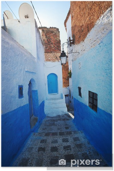 Plakat Miasto w Maroku - Afryka