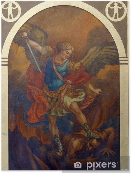 Plakat Michała Archanioła