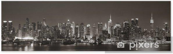 Plakat Midtown Manhattan Skyline -