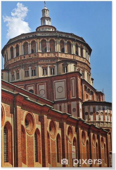 Plakat Milan, Bazylika Santa Maria delle Grazie - Europa